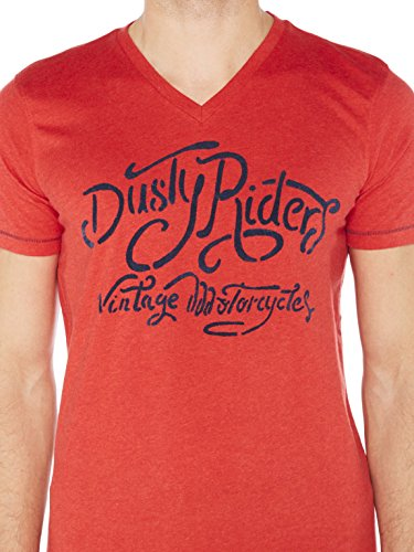 Colorado Denim Brett, T-Shirt Uomo Rot (Aurora Red Mel 3966)