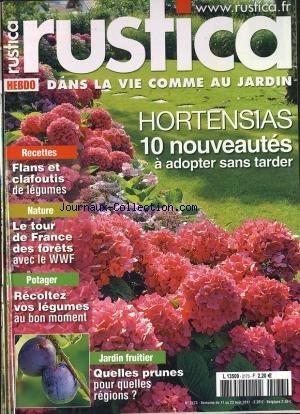 RUSTICA HEBDO [No 2173] du 17/08/2011