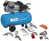 GÜDE KOMPRESSORSET Kompressor mit Zubehör 400/10/50 DG 15 TLG Art.: 71170