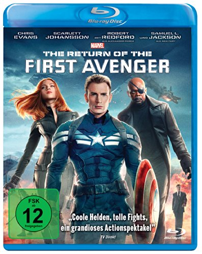 Avengers Vergleich America Kostüm Captain - The Return of the First Avenger [Blu-ray]