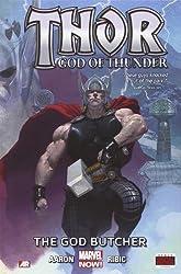 Thor: God of Thunder, Vol. 1: The God Butcher by Aaron, Jason (2013) Hardcover