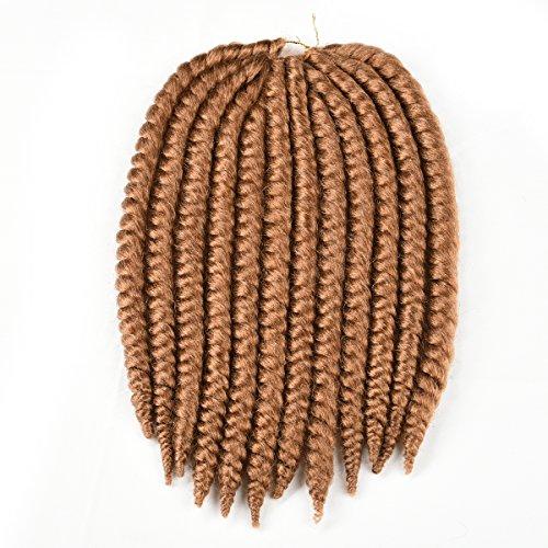 Originea TM 2 x Havana Mambo Style Cheveux haute température de qualité Fibre 30,5 cm 4 trames 27 # Blond miel