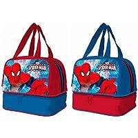 Spiderman Bolsa portameriendas con Base