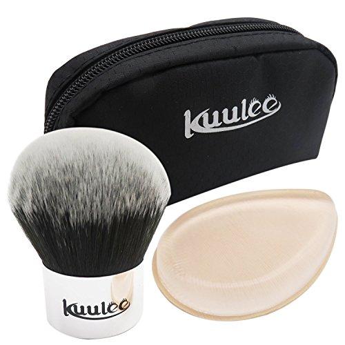 kuulee-kit-trucco-quotidiano-make-up-kit-spazzole-nudo-trucco-spugne-di-silicone-doppio-strato-silic