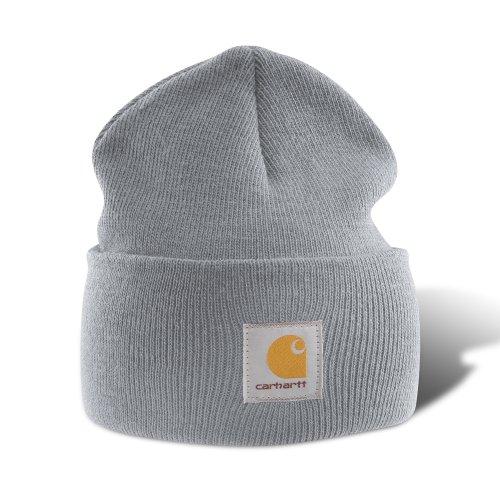 Carhartt - Acrylic Watch Cap - Grau - Strickmütze Mützen Hüte Beanie Winter Hut