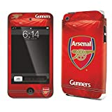 Arsenal FC Official IPod Touch 4G Football Crest Skin (iPod Touch 4G) (Red)