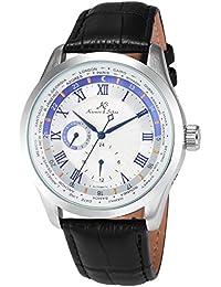 KS KS303 Imperial Series Reloj Mecánico Señor de Cuero Negro Día