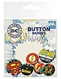GB Eye LTD, DC Comics, Retro, Set de Boutons