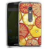 DeinDesign Lenovo Moto X Play Silikon Hülle Case Schutzhülle Zitrone Lemon Orange