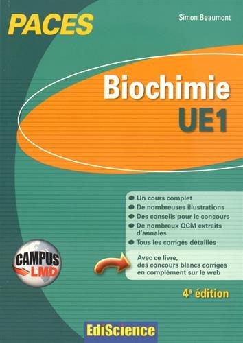 Biochimie-UE1 : 1re année santé
