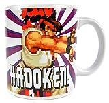 Street Fighter Mug Ryu Half Moon Calici Tazze