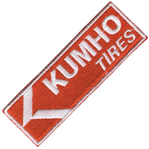 Kumho pneumatici iron on/sew on patch panno