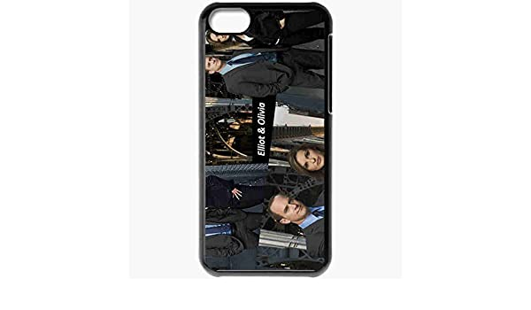 456e28e2e7 Personalized iPhone 5C Cell phone Case/Cover Skin Law And Order Svu Black:  Amazon.co.uk: Electronics