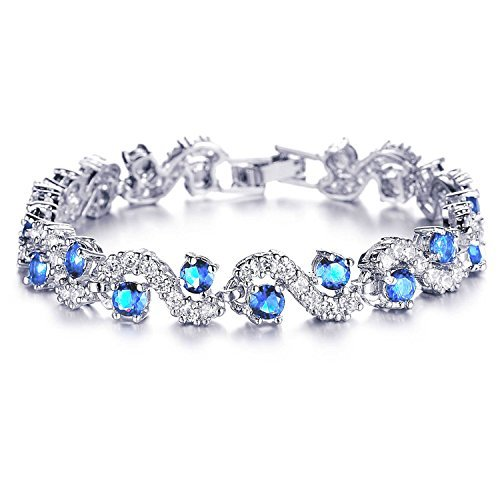 Yutii Skyblue Sterling-Silver Cuff & Kadaa Bracelet for Women, Imitation Jewellery Online