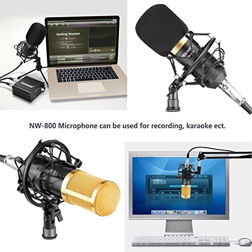Zoom IMG-3 neewer kit di microfono a