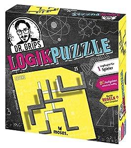 Moses. 90324Dr. Grips lógica Puzzle   el Puzzle Juego con búsqueda Factor   lógica Parte para 1Jugador, Multicolor