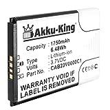 Akku-King Akku ersetzt Alcatel CAB23V0000C1 - Li-Ion 1750mAh - für One Touch Link Y800, Y800Z, Y580