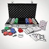 #winning Set da Poker da 300 Pezzi, fiche Incluse - Edizione Professionale