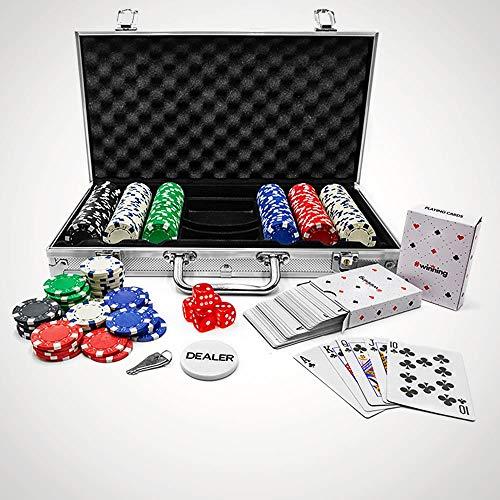 #winning Set da Poker da 300 Pezzi fiche Incluse Edizione Professionale