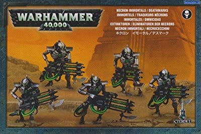 Games Workshop Jeux Atelier 99120110035 Warhammer 40,000 NECRON Immortels/Deathmarks Jeu