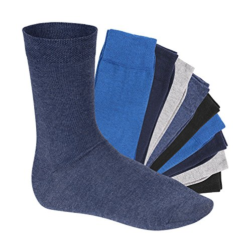 10 Paar EVERYDAY! Unisex Socken Jeanstöne-39-42