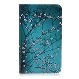 KATUMOFlip Folio Cover e Custodia Compatibile con Samsung Galaxy Tab 4 8.0''(SM-T330 T331 T335) Protettiva in Pelle Book Style Back Case con Kickstand Funzione