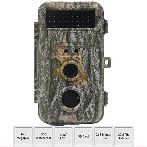 MCJL Wildlife Camera 1080P 16MP ...