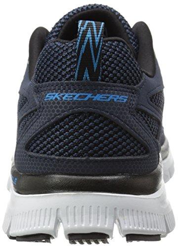 Skechers Flex AdvantageFirst Team Herren Sneakers Blau (Nvbl)