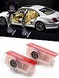 Motoeye Einstiegsbeleuchtung 5W Cree Led Laser Projektor Autotür Licht 3D Logo (2er-Pack)