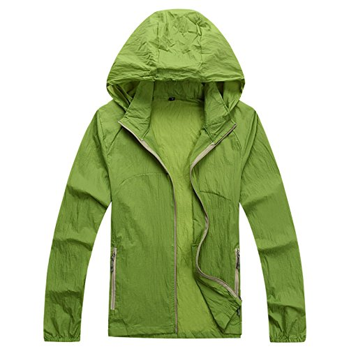 Men and women lovers skin dust coat outdoor windbreaker is prevented bask in clothes