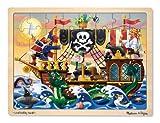 Melissa & Doug - 13800 - Puzzle En Bois - Aventure De Pirates