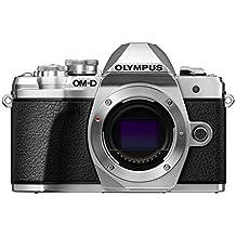 Olympus OM-D E-M10 Mark III - Cámara EVIL de 16.1 MP (4k, FHD, LCD, pantalla abatible, táctil, Wifi, 8.5 imágenes por segundo, OLED) plateado - solo cuerpo