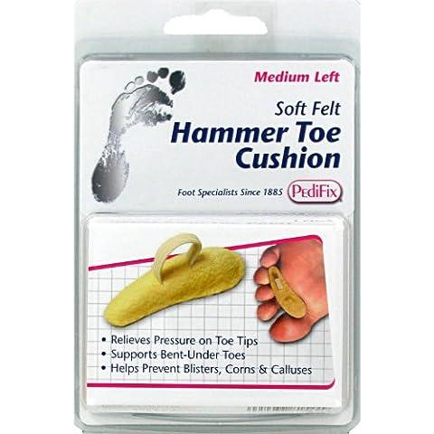 Pedifix Soft Felt Hammer Toe Cushion, #P54Sr - Small Right
