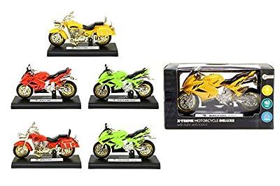 Toi-Toys 29200Z Moto L/s Inclusive Piles Figur, Mehrfarbig von Toi-Toys