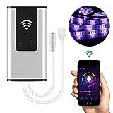 Smart Controller WiFi RGB LED Licht Controller Arbeiten mit Amazon Alexa & Google Home Kostenlose App Fernbedienung Lichter von Voice Support IOS & Android