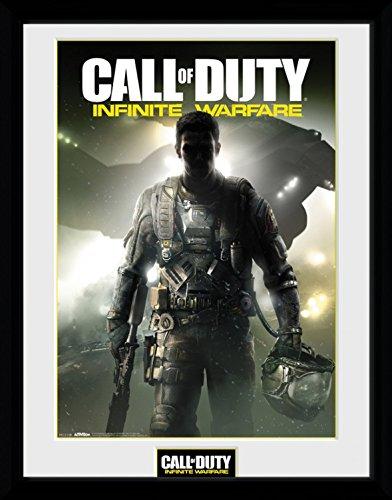 Preisvergleich Produktbild 1art1 100242 Call Of Duty - Infinite Warfare, Key Art Gerahmtes Poster Für Fans Und Sammler 40 x 30 cm