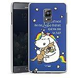 DeinDesign Samsung Galaxy Note Edge Hülle Case Handyhülle Pummeleinhorn Pummel und Freunde Einhorn