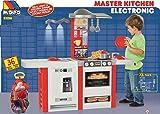 JT-Lizenzen Molto Spielküche Kinderküche Master Kitchen 36-tlg. Zubehör Licht- u. Sound