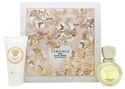 Versace Eros Pour Femme Geschenkset 30ml EDT + 50ml Body Lotion