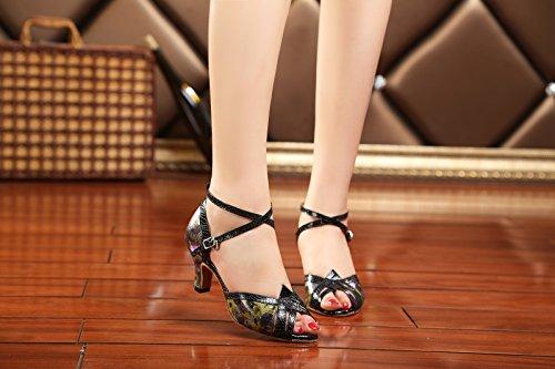 Miyoopark , Salle de bal femme Black-7.5cm Heel