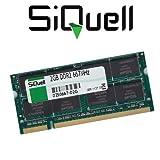 SiQuell 2GB DDR2 667MHz (PC2-5300) SO.Dimm Arbeitsspeicher RAM Memory