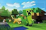 GB Eye LTD, Minecraft, Ocelot Chase, Maxi Poster, 61 x 91,5 cm