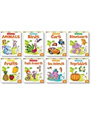 Little Artist Copy Colouring Pack (Set of 8 books)
