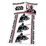 Herding Bettwäsche Star Wars 135 x 200 Kissenbezug 100% Baumwolle Flanell Biber