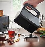 VonShef 1.7L Jug Kettle – Rapid Boil, Electric 3000W – Black & Chrome