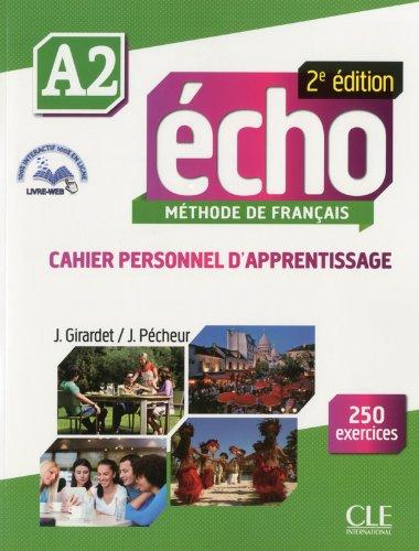 Écho - Niveau A2 - Cahier personnel d'apprentissage + Livre web - 2ème édition