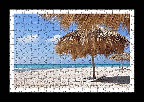 stile-puzzle-pre-assemblato-ombrelli-da-parete-con-stampa-di-erba-su-sandy-beach-by-lisa-loft