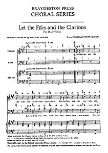 Henry Purcell: Let The Fifes And The Clarions (arr. Wilson) - TB. Partitions pour Voix Masculines/Accompagnement Piano