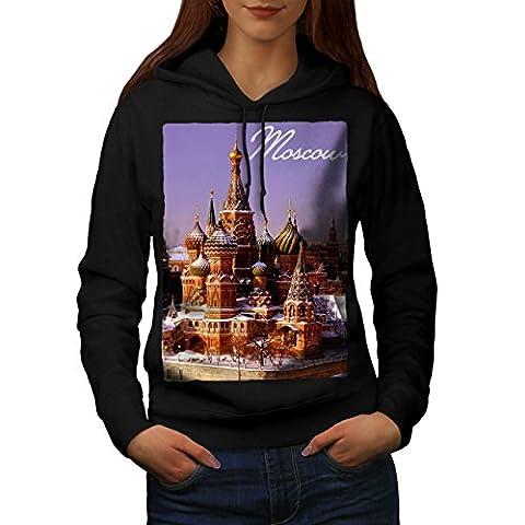 Russian Capital Art Women M Kapuzenpullover | Wellcoda