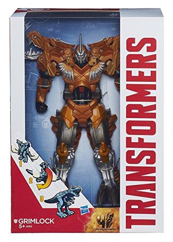 Transformers 4 - Ära des Untergangs Flip und Change Grimlock Figur [UK Import] (Transformers Grimlock 4)